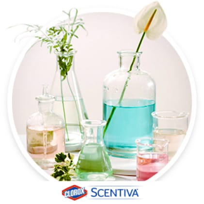 With Scentiva, you no longer need to trade off between the powerful clean of Clorox and elevated, uplifting scents, free of harsh chemical smells.