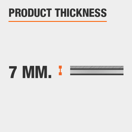 Product Thickness 7mm.