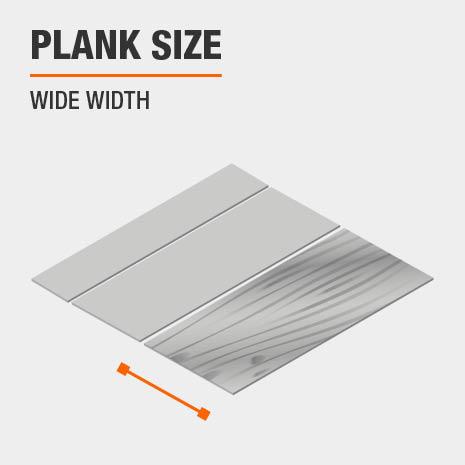 Wide Width Plank