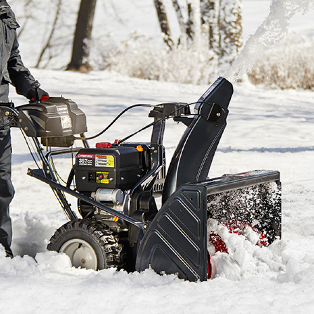 Troy-Bilt 30 in. 357 cc Two-Stage Gas Snow Blower with Electric Start on