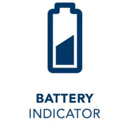 Low battery indicator icon