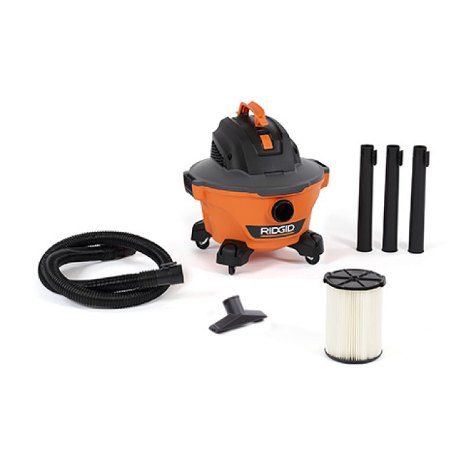 Includes 1-7/8 in. x 7 ft. Hose, 3 Extension Wands, Utility Nozzle,  Standard Filter