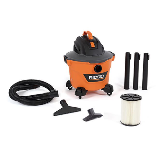 Includes 1-7/8 in. x 7 ft.  Hose, 3 Extension Wands, Utility Nozzle, Wet Nozzle,  Standard Filter