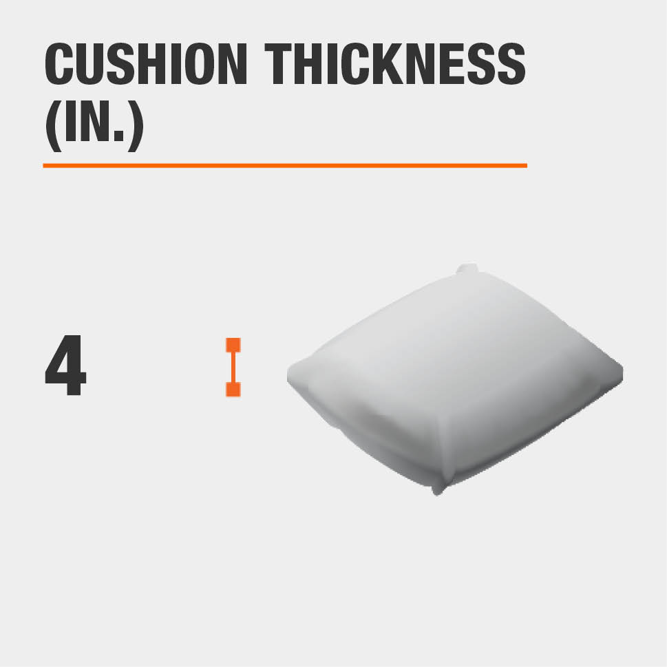 Cushion Thickness (in.) 4