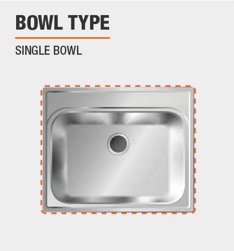 Bowl Type is Single Bowl