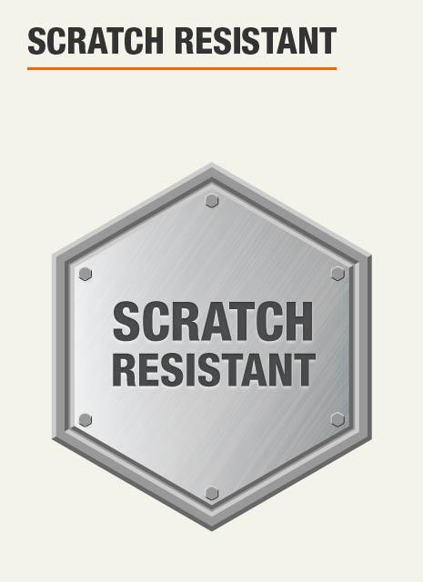 Garage Storage System is scratch resistant