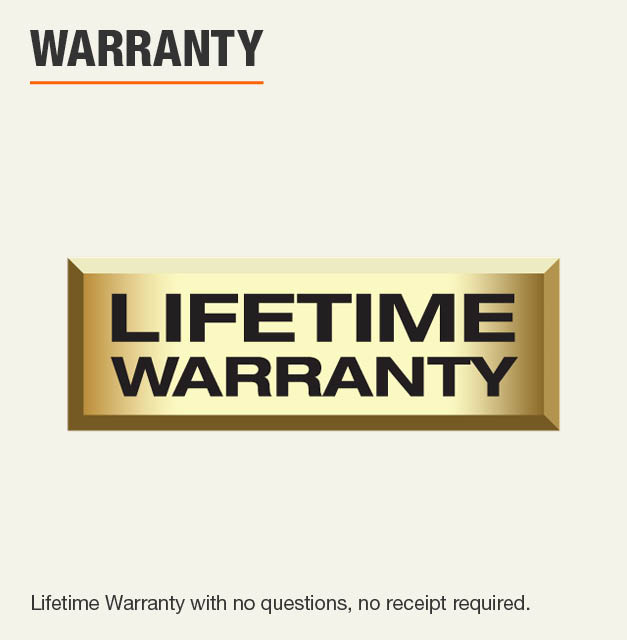 Husky Limited Lifetime Warranty