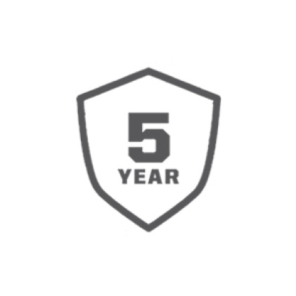 5 Years Covered Under Warranty
