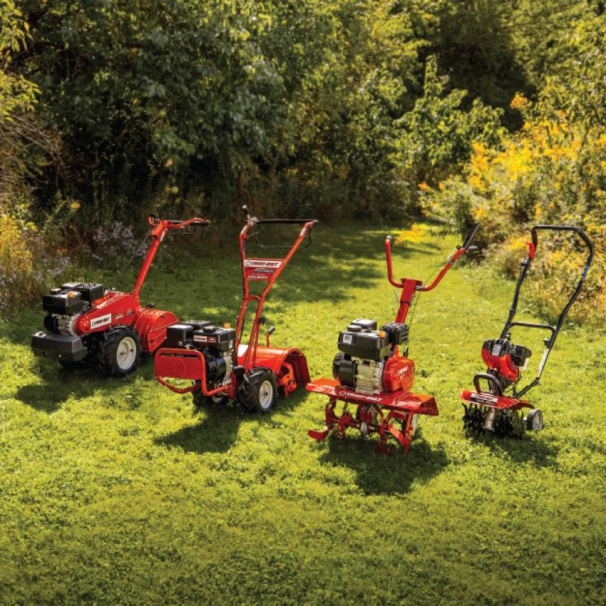 Troy-Bilt, tiller, cultivator, gas cultivator, gas tiller, gardening