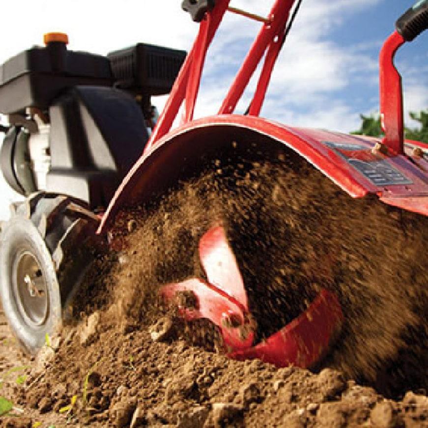 Troy-Bilt, tiller, cultivator, gas cultivator, gas tiller, gardening, power, engine