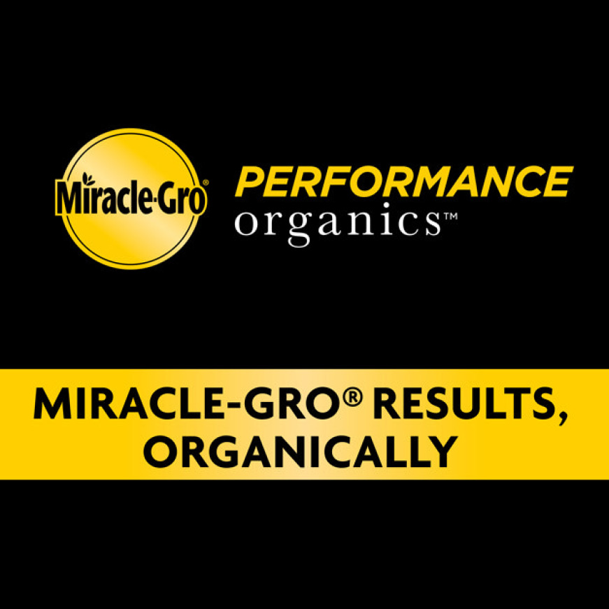 Miracle-Gro 25 qt  Performance Organics Potting Soil Mix