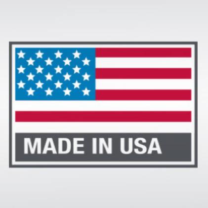Proudly made in Mukwonago, WI USA