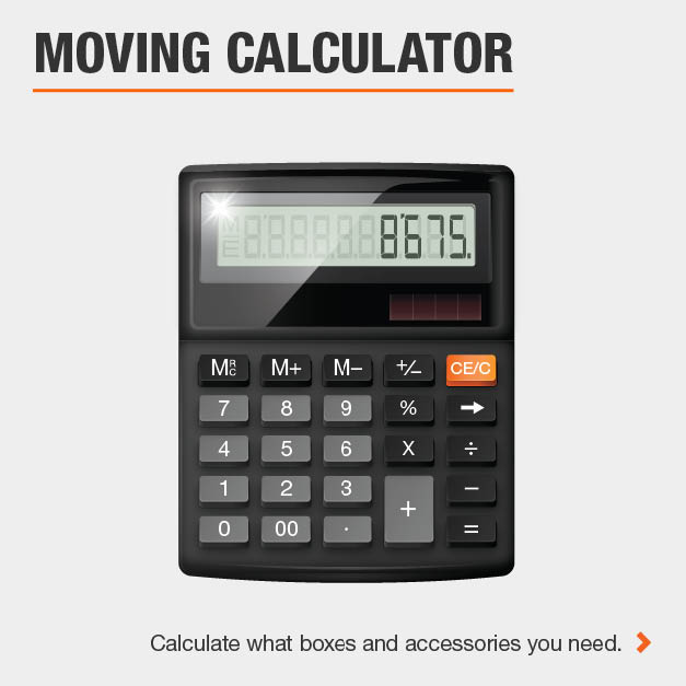 Calculate packing supplies