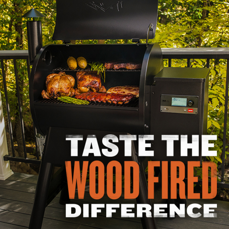 Traeger Grills - Taste The Wood Fired Difference - Pro575