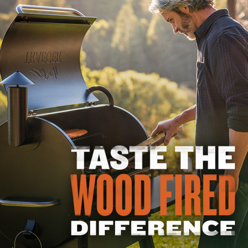 Traeger Grills - Taste The Wood Fired Difference - Pro780