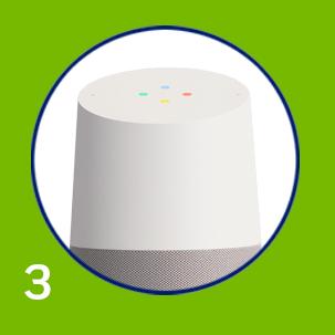 3) Sync to Google Home or Alexa