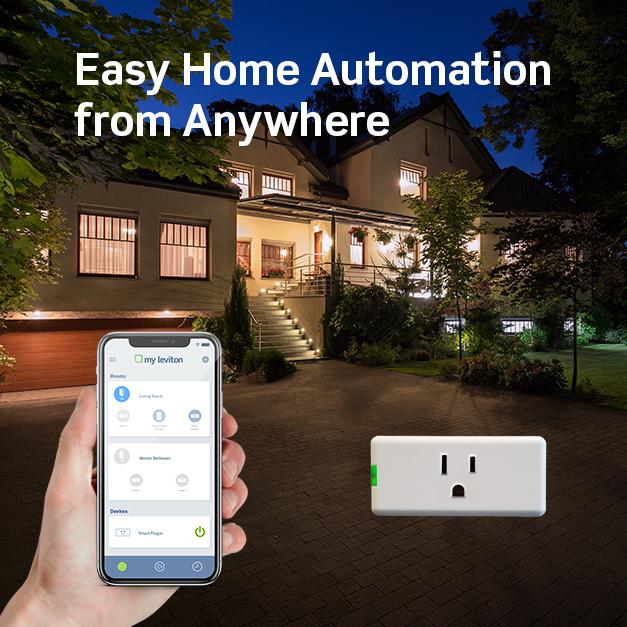 Leviton Decora Smart Wi-Fi Mini Smart Plug
