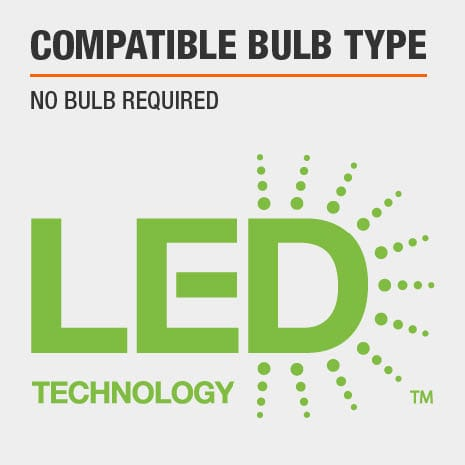 no bulb required