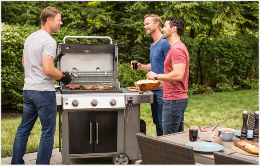 An exclusive world-class grilling engine -- the bar has been raised.