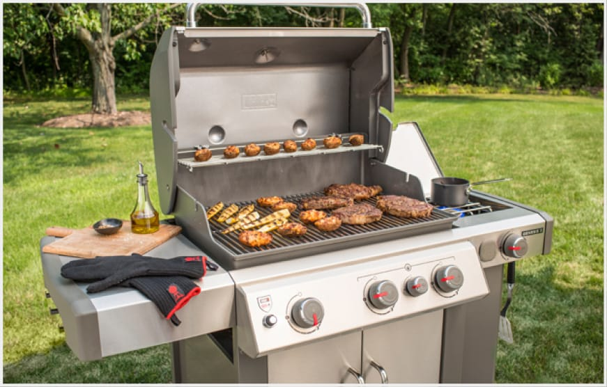 The Genesis II S-335 is equipped with a sear station, side burner, 10 year warranty on all parts of the grill - and that's just the beginning.