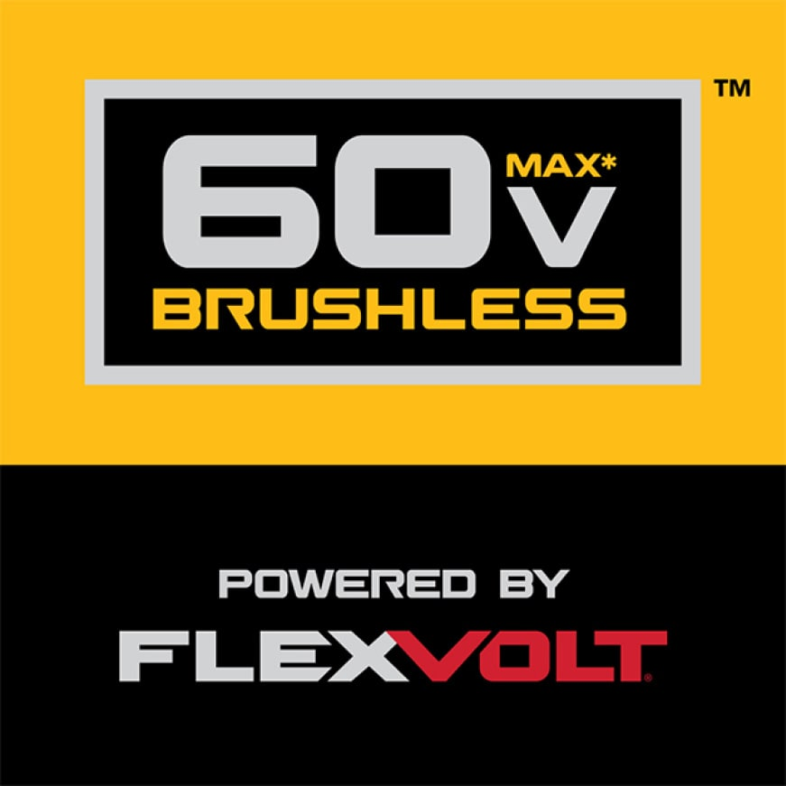 Tough jobs demand maximum power. 60V MAX delivers the performance to take on your largest jobs.