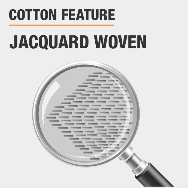 jacquard woven
