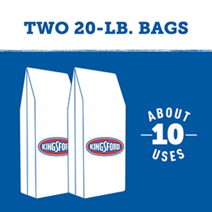 Two 20 lb. bags