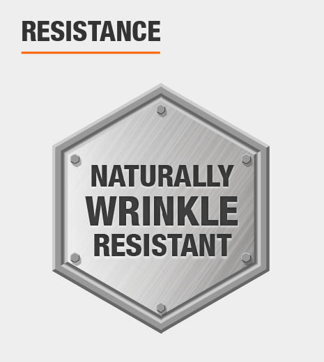 Naturally Wrinkle-Resistant