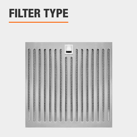 Easy clean with dishwasher safe Hybrid Baffle Filters