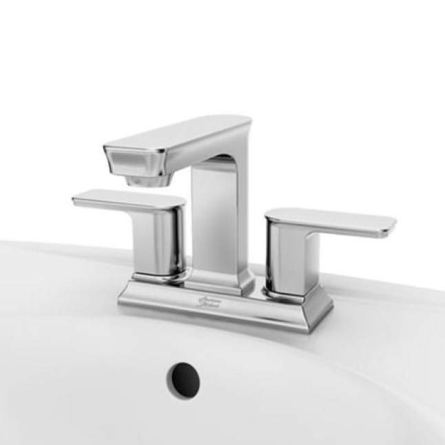 Forsey 2-Handle 4 in. Centerset Bath Faucet, BN