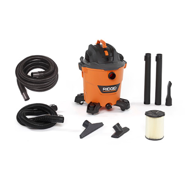 Includes 2-1/2 in. x 7 ft. Hose,  2-1/2 in. x 20 ft. Hose, 2 Extension Wands, Utility Nozzle, Wet Nozzle, Car Nozzle, Standard Filter