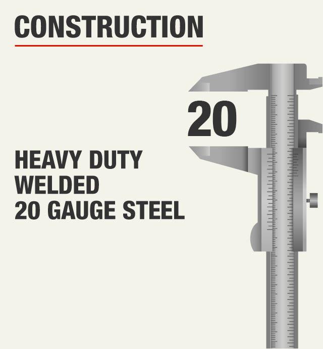 Heavy Duty Welded 20 Gauge Steel