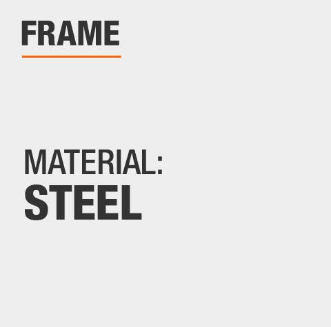 Hampton Bay Beacon Park Gray Rectangular Farmhouse Steel