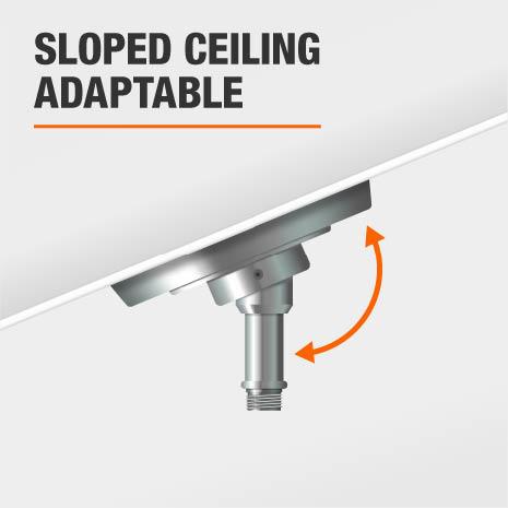 Sloped Ceiling Installation