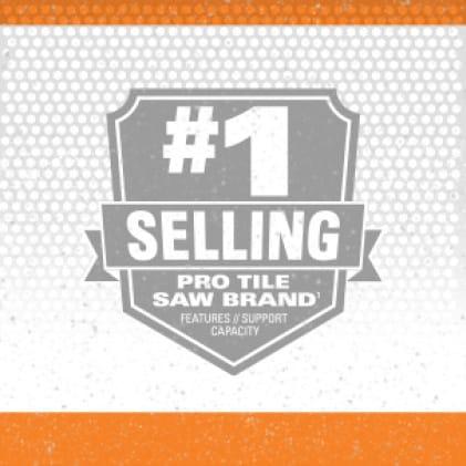 #1 Tile saw brand