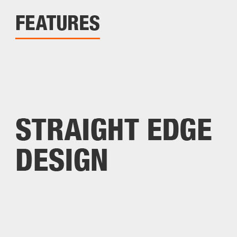 Standing Mirror with Straight Edge Design