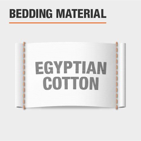 Egyptian Cotton Bedding Material