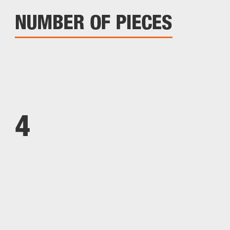 Number of Pieces 4