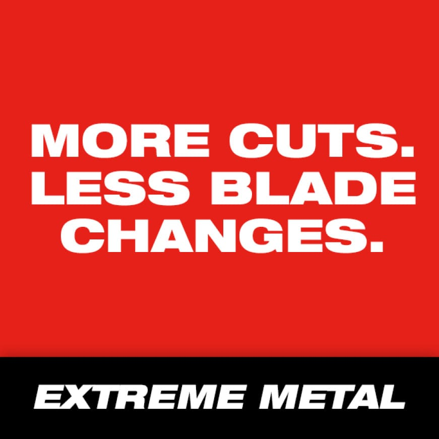Maximize your band saw blade performance with extreme metal band saw blades