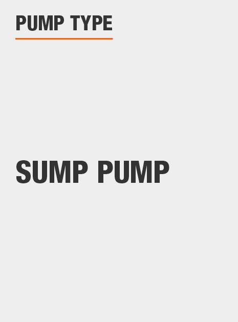 This is a Sump Pump pump.