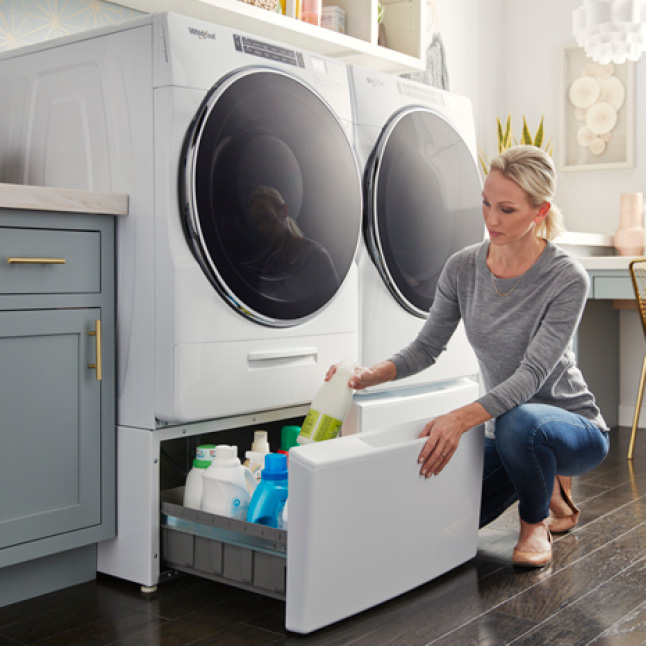 Clean the inside of your washer with the AFFRESH cycle.