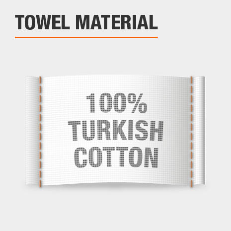 100% Turkish Cotton Bath Towels