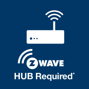 Z-wave Hub Required icon.