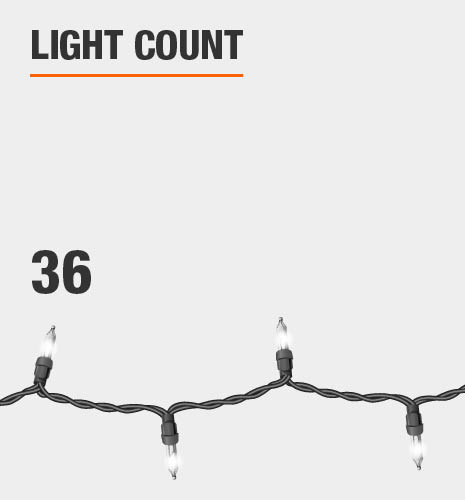 The light count is 36