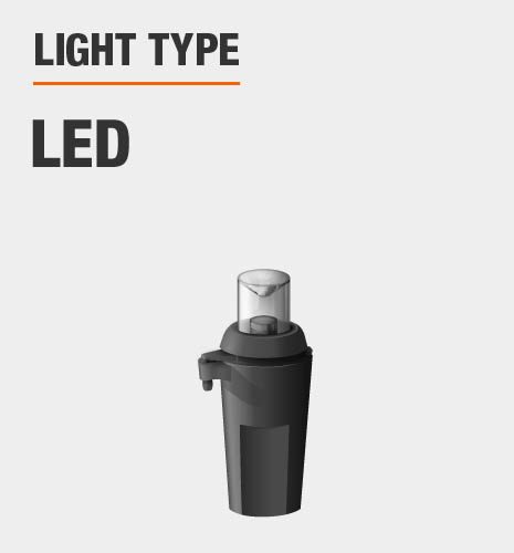 Light type is LED