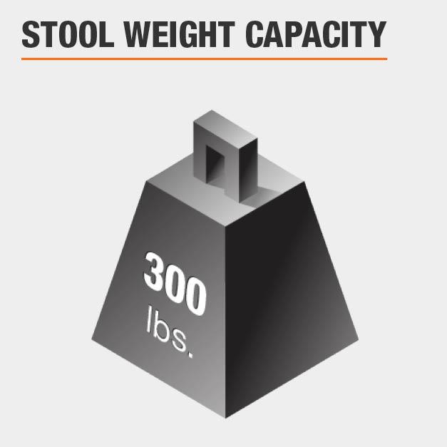 Stool Weight Capacity 300 lbs