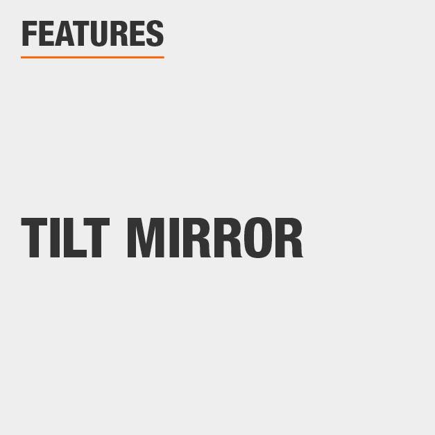 Vanity Set with Tilt Mirror