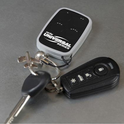 Genie universal garage door opener remote keyfob
