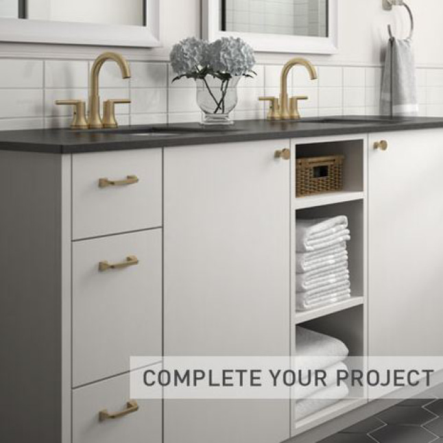 Complete your cabinet hardware project