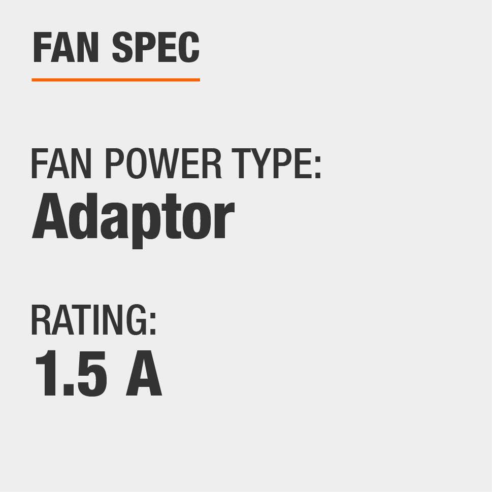 Power Type is Adaptor